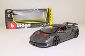 Burago 1 24 Lamborghini Sesto Elemento Carbon Fibre Black