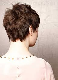 backside of short haircuts pics best 25 choppy pixie cut ideas on pinterest choppy short hair