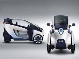 toyota mini cars toyota i road electric minicar swarms the roads