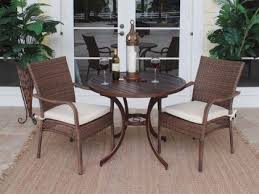 small table with two chairs 2 chairs and table patio set home site