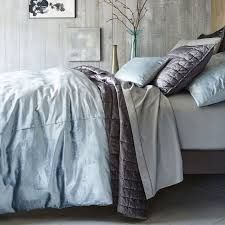 Wash Duvet Cover Washed Cotton Luster Velvet Quilt Shams West Elm