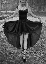 Dress Black Dress Gothic High Low Dresses Gothic Dress Goth