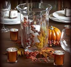 Fall Table Arrangements Home Design Trendy Hurricane Candle Centerpieces Greenery Round