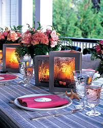 wedding reception table centerpieces summer centerpieces for entertaining martha stewart