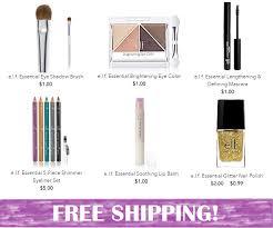 e l f cosmetics free shipping no minimum great stocking