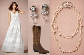 ask maggie wedding dress with cowboy boots rustic wedding chic