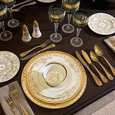 Beautiful Place Settings Aparelho De Jantar Versace Casa Medusa Fabuloso U0026 Fantastico
