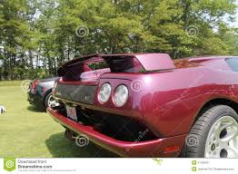 Lamborghini Murcielago Purple - lamborghini supercar rear editorial photo image 41429971