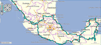 Oaxaca Mexico Map Belize Tauchmaus