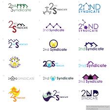 set 3 of second syndicate logos jahzel misner designer