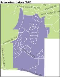 Princeton Map Invest Atlanta Princeton Lakes Tad