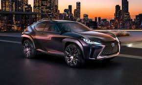 futuristic cars interior lexus ux concept takes paris by storm with sharp styling and