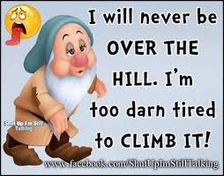 Over The Hill Meme - facebook meme of the week