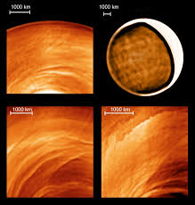 venus express probe reveals the planet u0027s mysterious night side