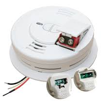 Install Smoke Detector Kidde Hardwired 120 Volt Inter Connectable Smoke Alarm With