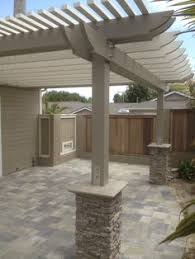 How To Build A Covered Pergola by How To Build A Pergola Attached To House Pergolas House And