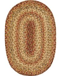 home spice decor deal alert home spice harvest jute braided placemat 13 x19 oval