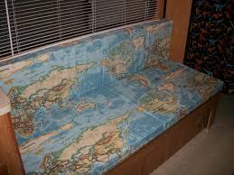 Map Fabric World Map Fabric Rv Cushions U2013 Cushion Source Blog