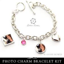 ring charm bracelet images How to make a photo charm bracelet annie howes jpg