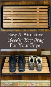 17 best images about diy home decor on pinterest how to paint diy attractive wooden boot tray for your foyer