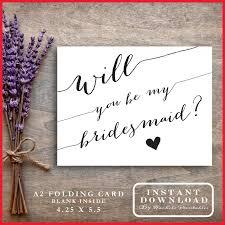 in bridesmaid card printable bridesmaid cards 329639 bridesmaid card