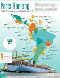 Map Of Mexico And South America by Quiz Top Ports In South America Do You Know Them