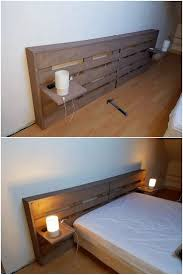 floating headboard ideas the 25 best wood pallet headboards ideas on pinterest pallet