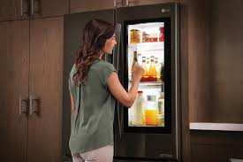 Lg Kitchen Appliances Lg Instaview Refrigerator Surprised New Yorkers With Interactive