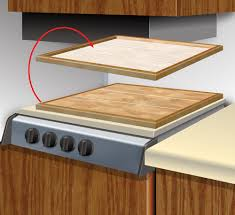 Foam For Laminate Flooring I Used Some Leftover Laminate Flooring To Make A Stove Cover In My