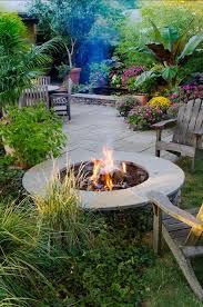 Tropical Landscape Ideas by Best 25 Tropical Fire Pits Ideas On Pinterest Tropical Garden