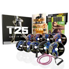 focus t25 workout 5 day with shaun t 9 dvd set la00000