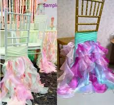 Vintage Wedding Chair Sashes Discount Vintage Wedding Chair Sashes 2017 Vintage Wedding Chair