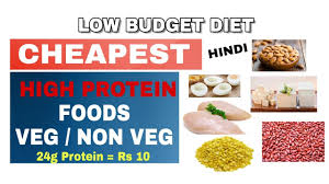 top 10 cheapest protein foods in india veg u0026 non veg high
