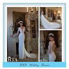 western style mermaid wedding dress for fat woman berta long