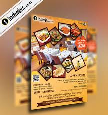 free flyer designs restaurants flyer template indiater