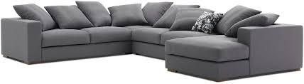 canapé d angle moelleux canapé d angle modulable contemporain en cuir cenova
