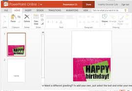 birthday invitation maker templates for powerpoint
