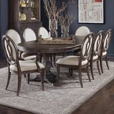9pc dining room set a r t furniture inc saint germain 9 piece double pedestal dining