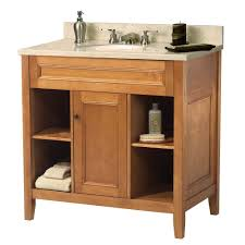 Powder Room Sinks And Vanities Foremost Gazette 31 In W X 22 In D Vanity In Espresso With