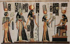 queen nefertari tattoo nineteenth dynasty queen nefertari and the goddess hathor ancient