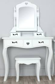Mirrored Glass Vanity Popular Small Half Moon Console Table 23 For Mirror Over With