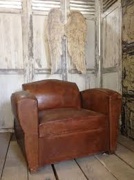 Vintage Brown Leather Armchair Antique Leather Chairs Collection On Ebay