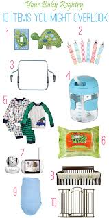 top baby registries top 10 baby registry items you never you knew you needed until