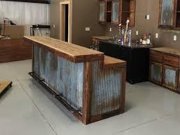 rustic barn wood kitchen cabinets large rustic barnwood bar