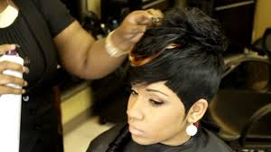 sew in weave short hair atlanta the sexy boy girl quick weave by tameka king video quick weave