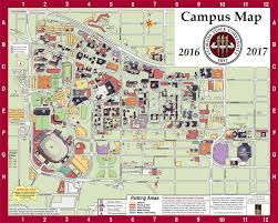 Large Map Of Florida by Campus Map Fsu Online Visitor U0027s Guide
