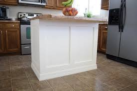 how to trim out cabinets add molding to a builder grade kitchen island an easy how