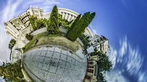 house planet little tiny planet 360 degree gorodetsky house in kiev tour to