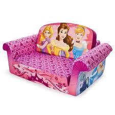 Flip Open Sofa For Kids by Marshmallow Furniture Children U0027s 2 In 1 Flip Open Foam Sofa Disney