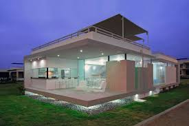 Contemporary Beach House Plans by